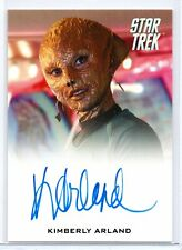 KIMBERLY ARLAND as Madeline / Star Trek Beyond (2017) Trading Card Autograph
