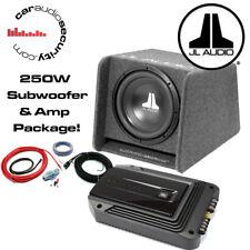 "JL Audio CP110-W0 10"" ORIGINALE recinto GXA AMPLIFICATORE Package DEAL 250 W RMS"