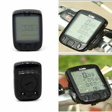 Digital LCD Bicycle Computer Bike Speedo Speedometer Pedometer Cycle Clock