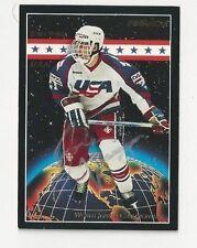 1994 Pinnacle Autographed Hockey Card John Varga Team USA