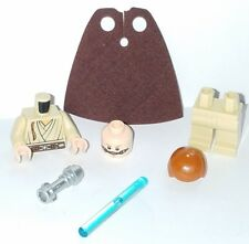 LEGO Star Wars OBI-WAN Minifigure 9499 Naboo Gungan Sub Exclusive Padawan