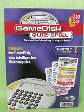 GameDisk Quiz Spiel Die interaktive Unterhaltung für die ganze Familie,neuwertig