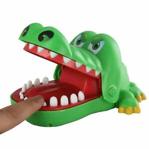 Big Crocodile Dentist Biting Hand Game for Kids family fun game