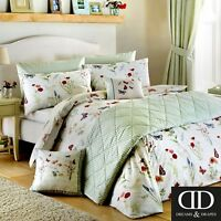 Dreams & Drapes Country Journal Reversible Easy Care Duvet Cover Bedroom Range