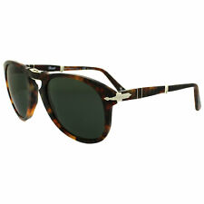 Persol Sunglasses 714 108/58 Havana Green Polarized 54mm