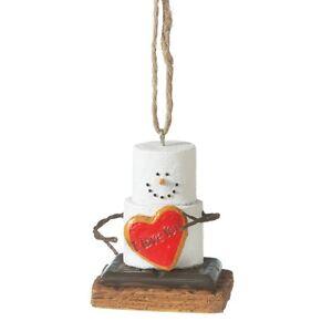 The Original S'more I Love you Ornament FS USA