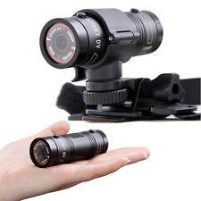 HD F9 Helmet Head Camera Waterproof Sport Action Cam Car Mini DVR Video recorder