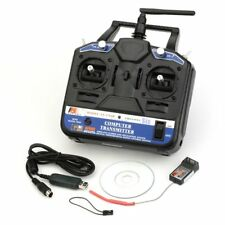 Flysky CT6B FS-CT6B 2.4G 6CH RC Transmitter & R6B Receiver for Drone Helicopters