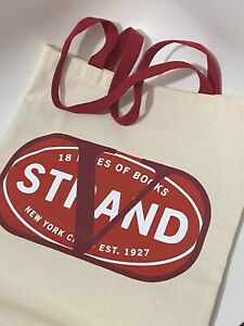 valentino x The Strand canvas tote bag ltd ed sold out nyc garavani