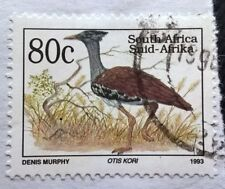 South Africa stamps - Kori Bustard (Ardeotis Kori) - 80 cent 1993