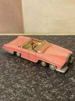VINTAGE DINKY TOYS THUNDERBIRDS LADY PENELOPE'S FAB 1 PINK WITH PARKER FIGURE