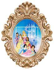 Disney Princess's frame  1 - Light Switch Surround Sticker vinyl  decal
