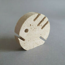 FRATELLI MANELLI ITALY  | Travertine fish / pesce (1970)
