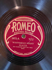 Romeo 5072 Doc Roberts Trio HAVE YOU EVER SEEN THE DEVIL Country 78 rpm EE+ 1931