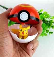 Hot Sale! Creative Pokemon Pokeball Cosplay Plastic Pop-up Poke Ball Game Toys