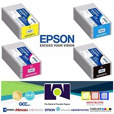 Genuine Epson SJIC22P (CMYK) Pigment Ink Cartridge for TM-C3500 Free Delivery