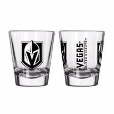 Vegas Golden Knights Game Day Logo Shot Glass NHL NEW