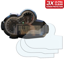 3 x BMW R1200GS 2013+ Dashboard Screen Protector: Ultra-Clear