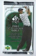 2001 UD SPA SP AUTHENTIC Upper Deck GOLF 1 Pack Hobby 4 Cards per Pack