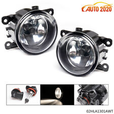 Pair Fog Lights Lamps 55w H11 Bulbs Driver Side Fit For Acura Honda Ford Nissan