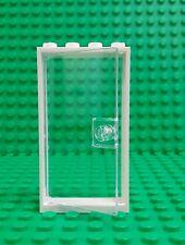 *NEW* Lego White Door Frame w Glass Window Door Modular Buildings Houses x 1