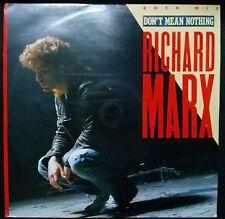 "RICHARD MARX DON'T MEAN NOTHING 12"" SINGLE AUSTRALIA"