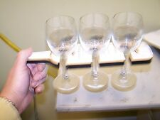 Rodney Strong three glass wine tasting holder pass glasses around