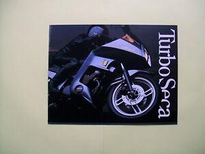 1982 Yamaha TURBO SECA sales literature/sales brochure   (NOS--not a reprint)