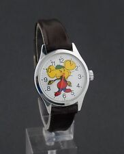 Vintage wind-up Topo Gigio Cartoon Character Watch