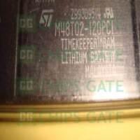 1PCS ST M48T02-1 DIP CMOS 8K x 8 TIMEKEEPER SRAM