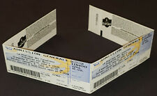 2006 - MONTREAL CANADIENS - PANEL OF 4 UNDETACHED TICKETS - PRACTICE DAY EVENT