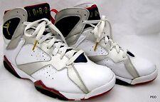 Nike Air Jordan XII 7 Mens Sz 10.5 White Blue Red Gold Olympic Shoes 304775-171