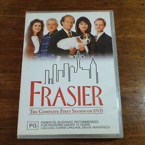 Frasier The Complete First Season DVD R4 LIKE NEW FREE POST