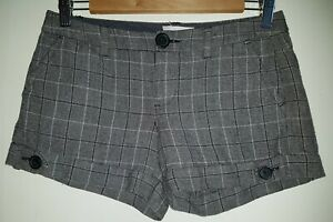 "Old Navy Ultra Low Waist Shorts Brown Size 0 30"" Waist 10/12"