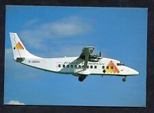 C1980's View of Jersey European Airlines Shorts 360 Aircraft.