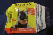 1992 Topps Batman Returns Trading Cards Set of 88 with wrapper DC COMICS