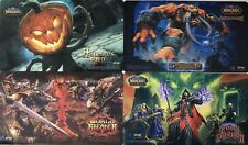 World Of Warcraft Tcg : Premium Playmat Set - 4X Playmats