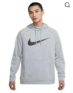 Men's Nike Dri Fit Pullover Training Hoodie Gym Running Activewear Size - Mediu