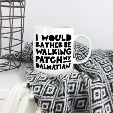 More details for dalmatian gifts: personalised dalmatian lovers mug - funny dalmatian owner gift