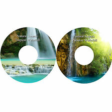 Natural Sounds Waterfall CDs Stress Relief Relaxation Sleep Aid Healing Calming