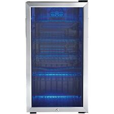 Danby 120 Can Beverage Center Stainless Steel DBC120BLS Mini Refrigerator Fridge