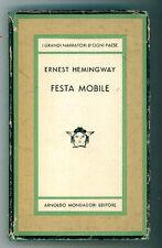 HEMINGWAY ERNEST  FESTA MOBILE MONDADORI 1964 II EDIZ. MEDUSA 463