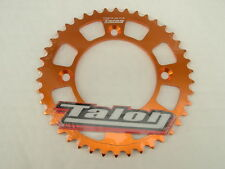 KTM 50,  KTM SX 50 ,  43T REAR SPROCKET 2014 onwards (415 CHAIN 578)  orange
