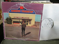 ED SANDERS Sanders' Truckstop the Fugs psych '69 white label promo LP beatnik !