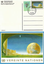 UNITED NATIONS 1997 S6 + S1 POSTCARDS ONE FIRST DAY CACELLED THE OTHER MINT