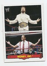 2012 TOPPS WWE HERITAGE FABLED TAG TEAMS #6 MONEY INC