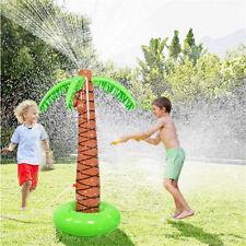Amusing Summer Water Play Sprinkler Inflatable Palm Tree Kids Spray Water Toy