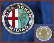 ALFA ROMEO 1900 GIULIETTA 2600 SPRINT SPIDER - Metal logo badge emblem MILANO