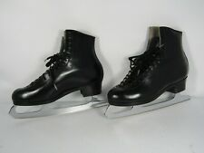 Sp-Teri Figure skating boots Black, Mk Professional Freestyle blades 9 1/2 C