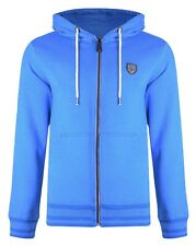 Smith & Jones Full Zip Hooded Sweatshirt Ozle Fleece Hoodie Le Mans Blue Small S